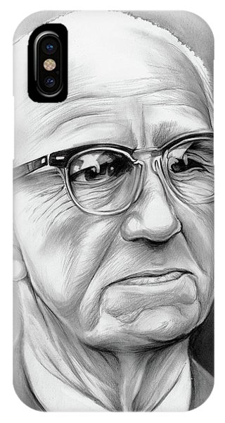 Inventor iPhone Case - Buckminster Fuller by Greg Joens
