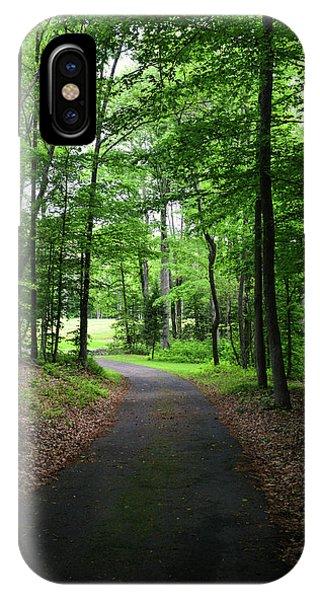 Buckner Farm Path IPhone Case