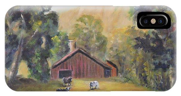 Bucks County Pa Barn IPhone Case