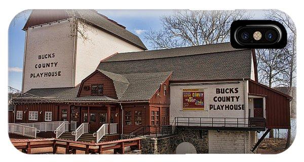 Bucks County Playhouse I IPhone Case