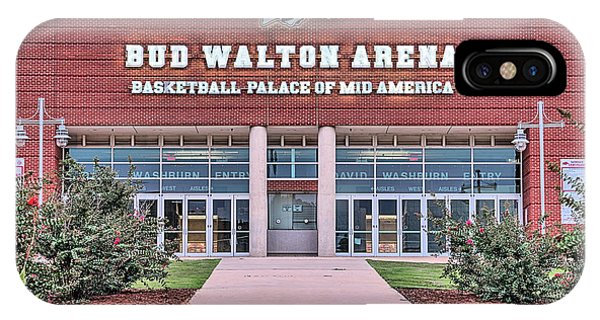 Bud Walton Arena IPhone Case