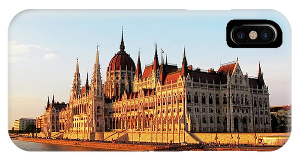 Budapest At Sunset IPhone Case