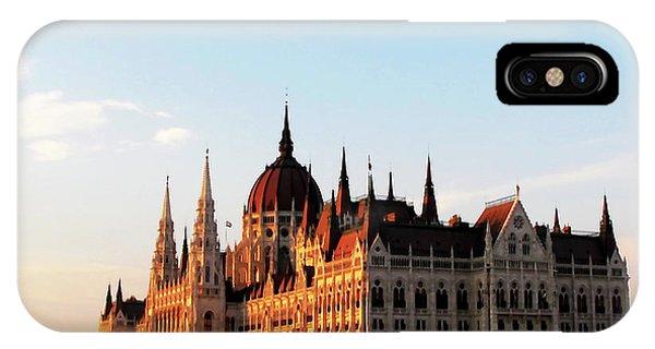 Budapest Sunset IPhone Case