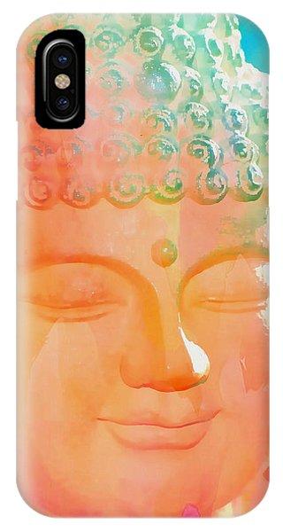 Buddah Glow IPhone Case