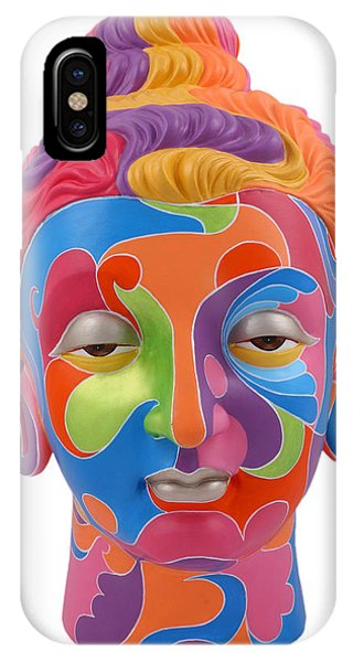 Buddha - Abstract-1 IPhone Case