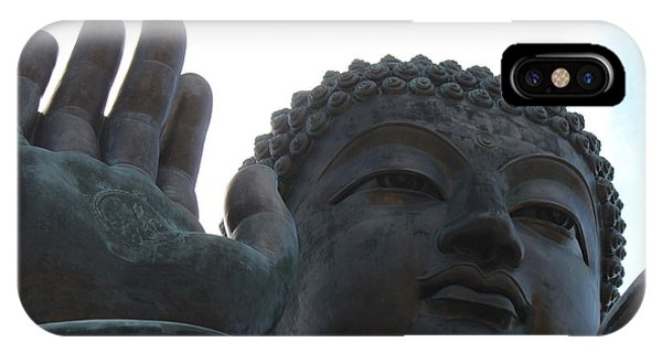 Buddha At Ngong Ping Village, Hong Kong IPhone Case