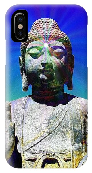 Buddha Blue IPhone Case