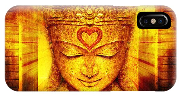 Buddha Entrance IPhone Case