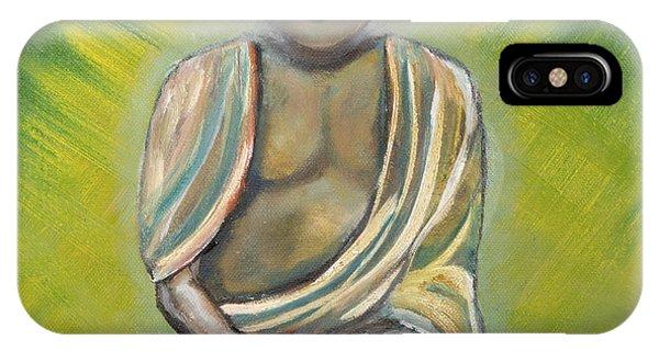 Siddharta iPhone Case - Buddha by Kimberley Riddett