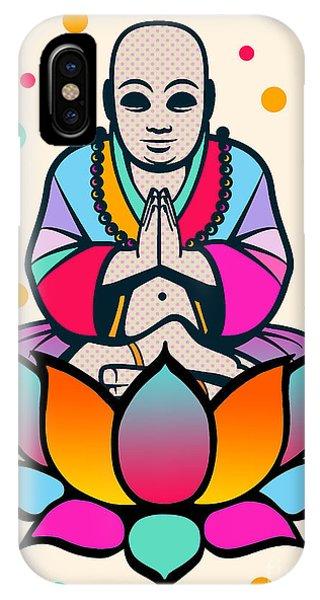 Buddhism iPhone Case - Buddha by Mark Ashkenazi