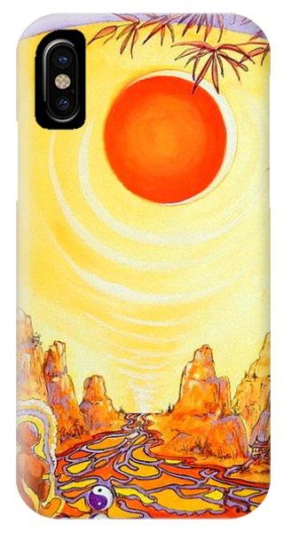 Buddha Meditation IPhone Case