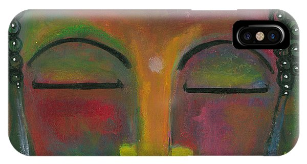 Buddha Painting IPhone Case