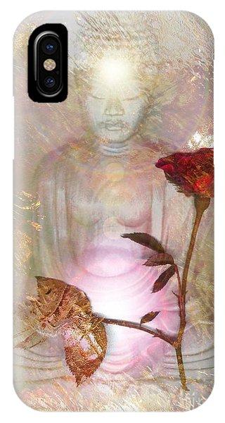 iPhone Case - Buddha by Uldra Johnson