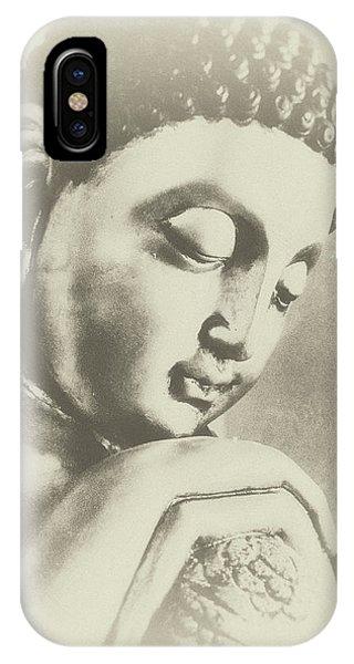 Siddharta iPhone Case - Buddha Profile Dream by Madeleine Forsberg