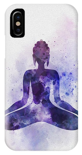 Buddhism iPhone Case - Buddha by My Inspiration