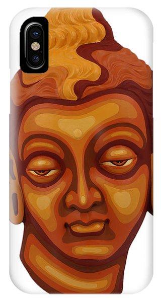 Buddha - Relief-1 IPhone Case