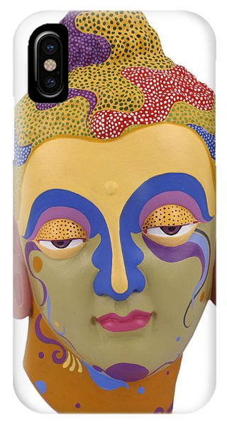 Buddha - Relief-2 IPhone Case