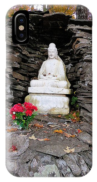 Dilapidation iPhone Case - Buddha Statues 2 by Jeelan Clark