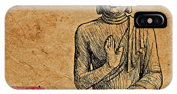 Buddha The Minimalist IPhone Case