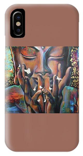 Buddhaflies IPhone Case