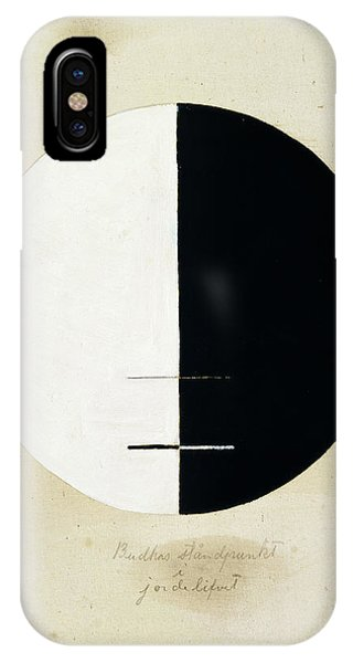 Buddhism iPhone Case - Buddhas Standpoint In The Earthly by Hilma af Klint