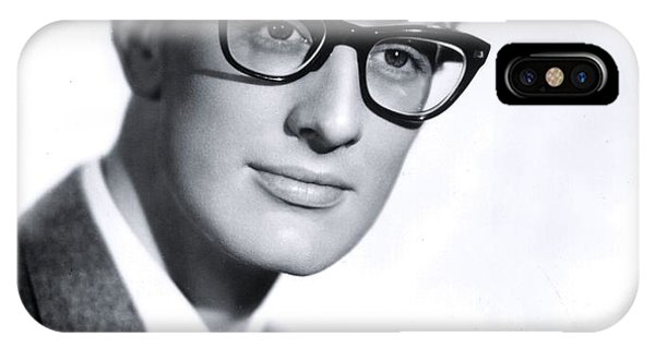 Cricket iPhone Case - Buddy Holly by The Titanic Project