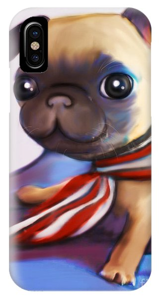 Buddy The Pug IPhone Case