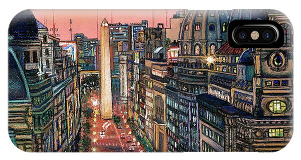 Buenos Aires Twilight IPhone Case