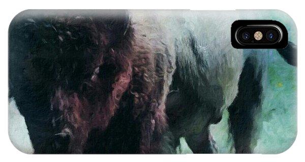 Buffalo American Bison IPhone Case