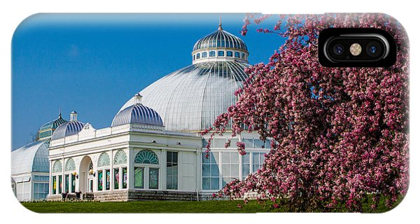 Buffalo Botanical Gardens North Lawns IPhone Case