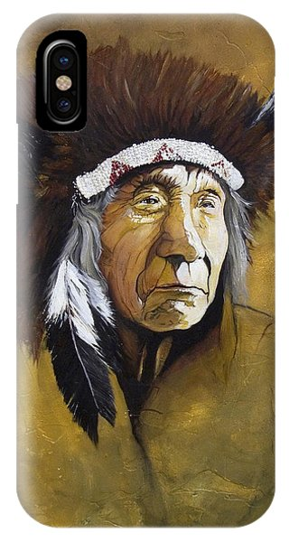 Buffalo Shaman IPhone Case