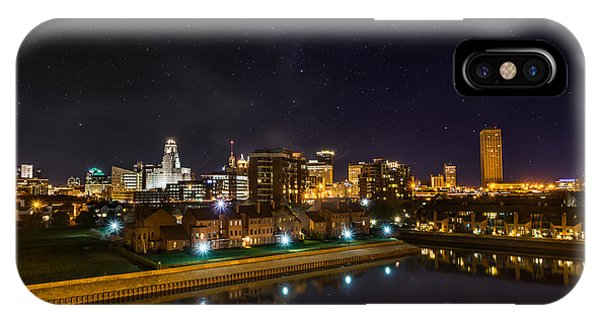 Buffalo Skyline Under The Stars IPhone Case