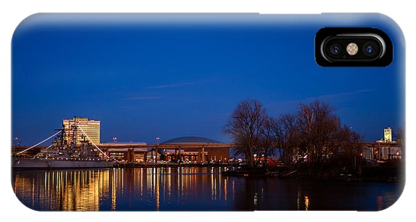 Buffalo Waterfront Twilight IPhone Case
