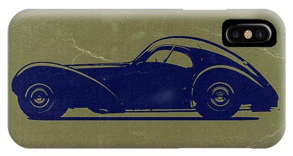 Bugatti 57 S Atlantic IPhone Case
