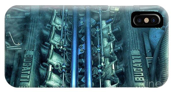 Bugatti Eb110 V12 Engine IPhone Case