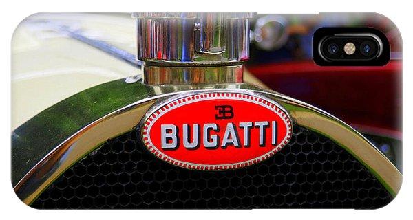 Bugatti Red IPhone Case