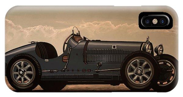 Oldtimer iPhone Case - Bugatti Type 35 1924 Mixed Media by Paul Meijering