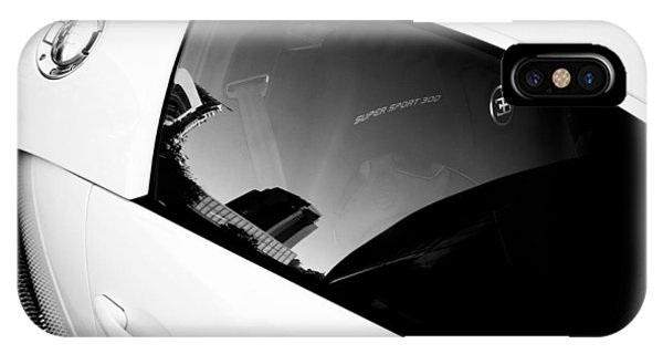 IPhone Case featuring the photograph Bugatti Veyron 16.4 by Michael Hope