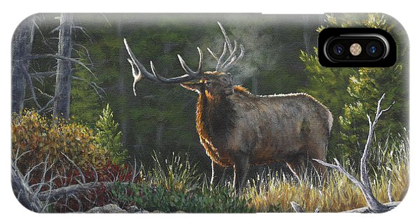 Bugling Bull IPhone Case