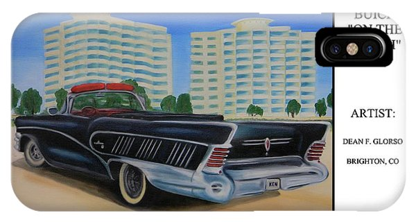 Buick On The Beach IPhone Case