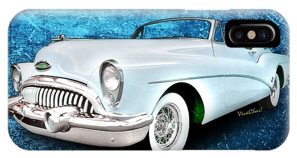 Buick Skylark Roadmaster Convertible For 1953 IPhone Case