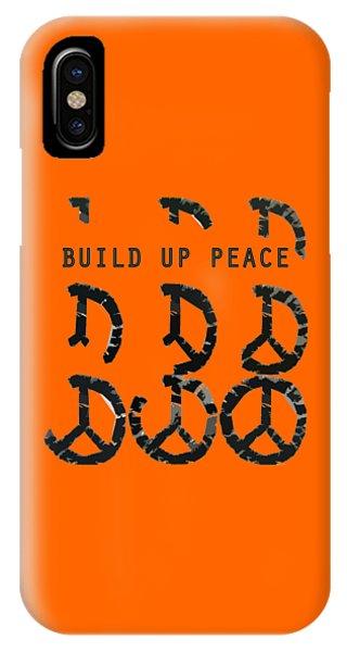 Michelle iPhone Case - Build Up Peace Ll by Michelle Calkins