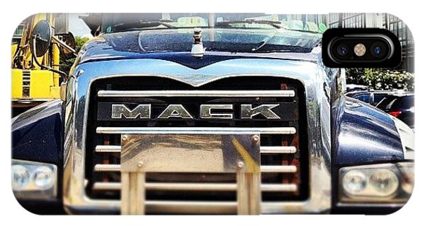 Professional iPhone Case - Built Like A Mack Truck by Rob Murray