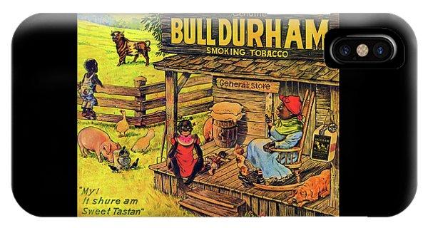 Bull Durham My It Shure Am Sweet Tastan IPhone Case