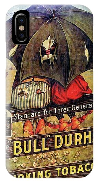 Bull Durham Smoking Tobacco IPhone Case