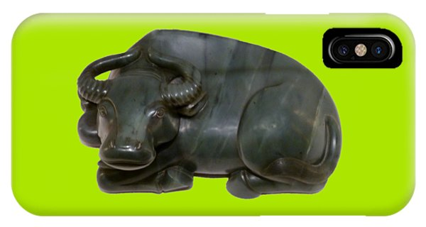 Bull Figure IPhone Case