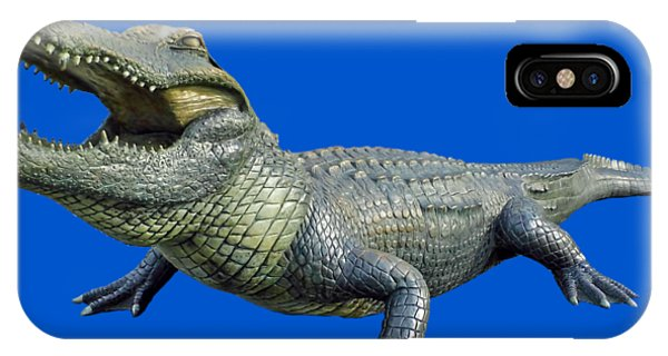 Bull Gator Transparent For T Shirts IPhone Case