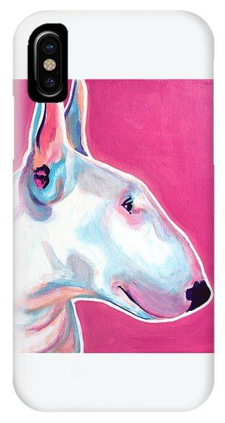 Bull Terrier - Bubblegum IPhone Case