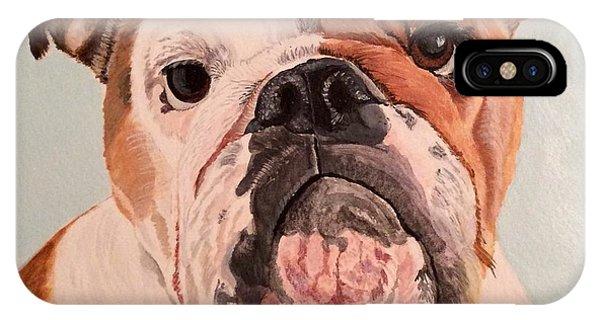 Bulldog Beauty IPhone Case