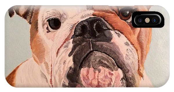 Bulldog Beauty IPhone Case